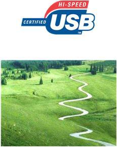 USB 2.0 480Mbps